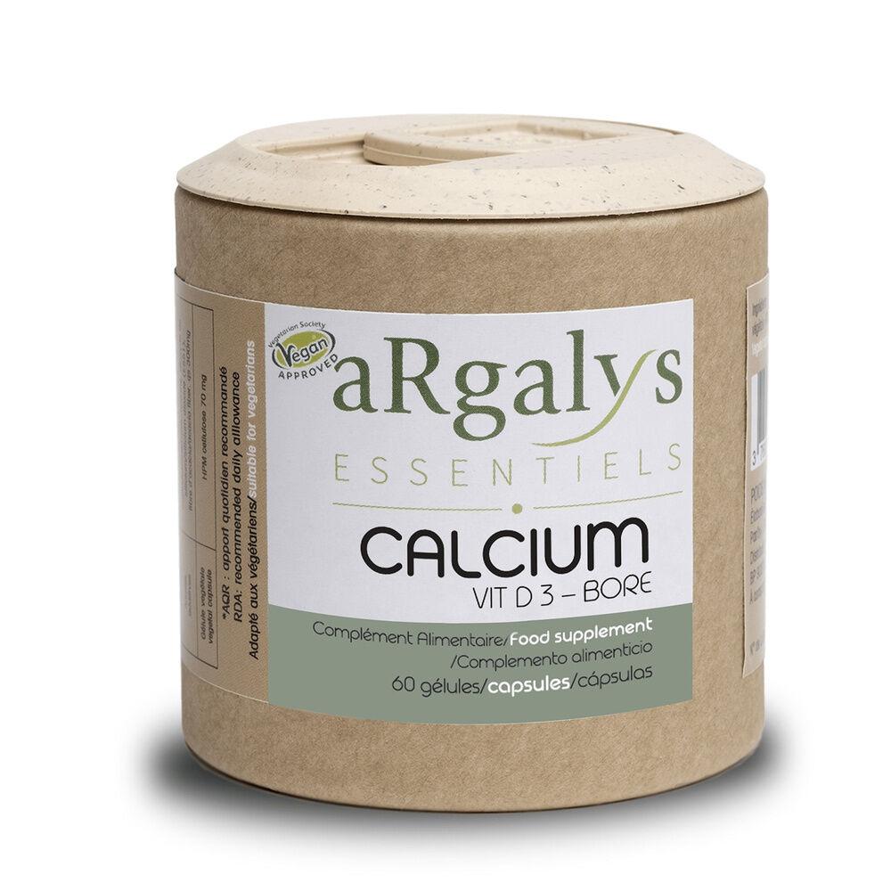 Argalys Calcium + Vitamine D3 et Bore Complément alimentaire