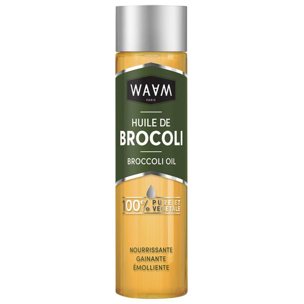 waam Huile végétale Huile végétale de Brocoli BIO 100 ml