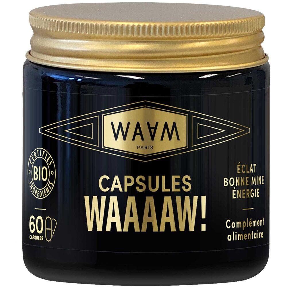 waam Les ingrédients cosmetiques Capsules WAAAAW! 50g