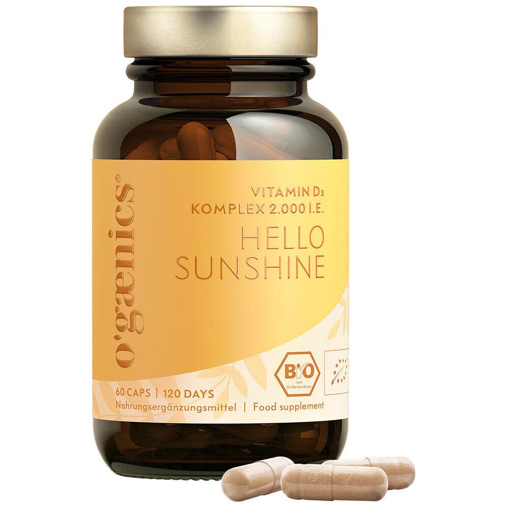 Ogaenics  HELLO SUNSHINE Vitamin D3 Komplex