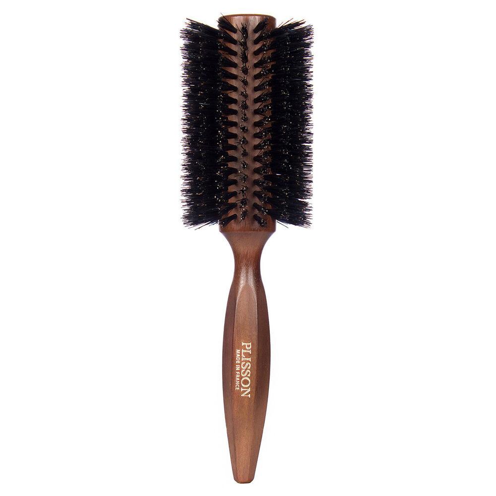 Plisson  Brosse à cheveux Brushing 18 rangs - 100% Sanglier