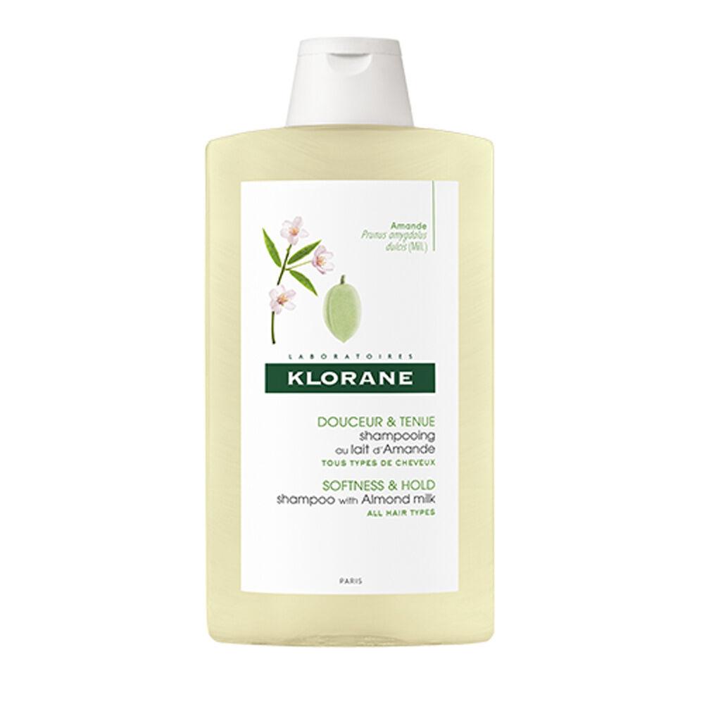 Klorane lait d'Amande Shampooing  400 ml Shampooing