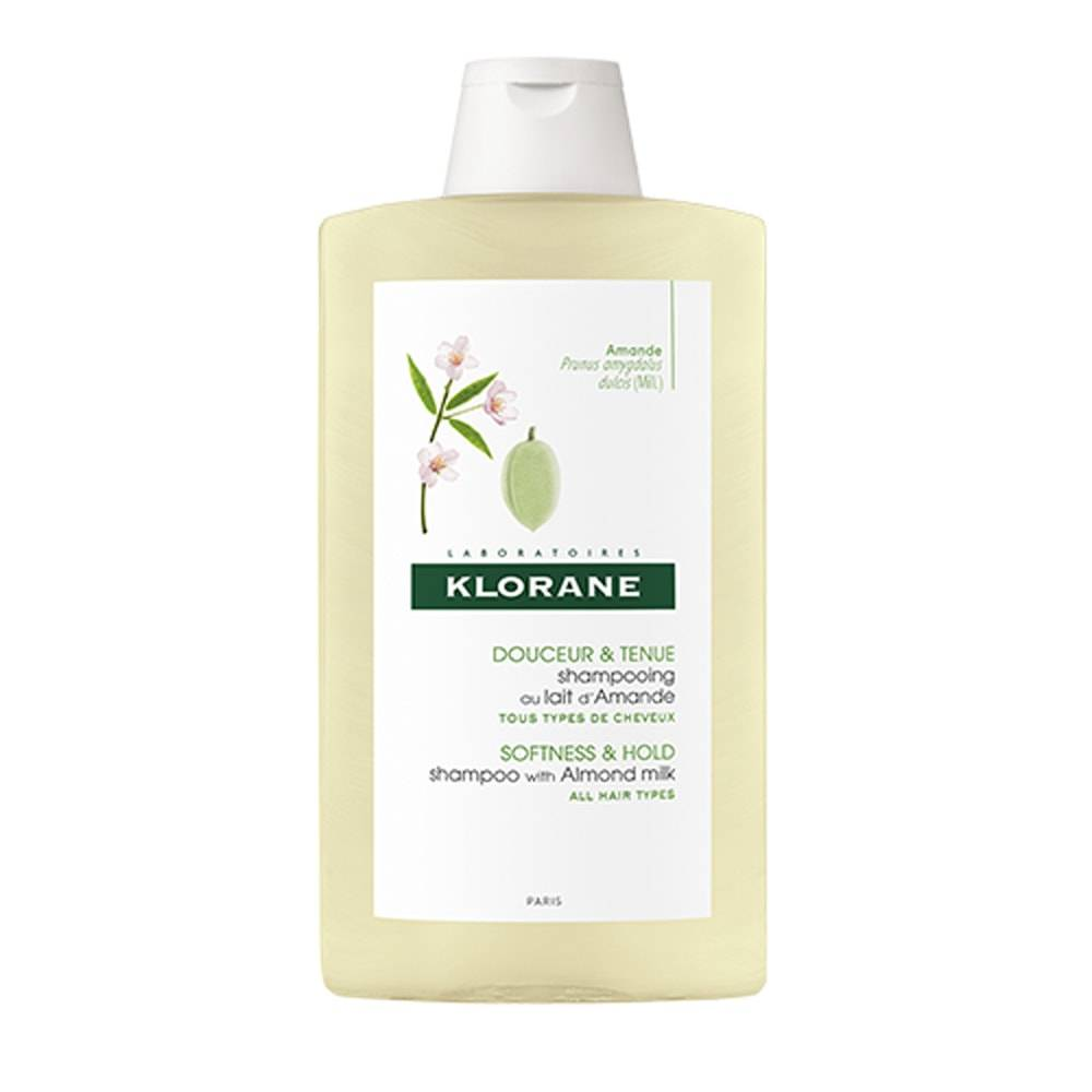 Klorane lait d'Amande Shampooing  400 ml Shampooing