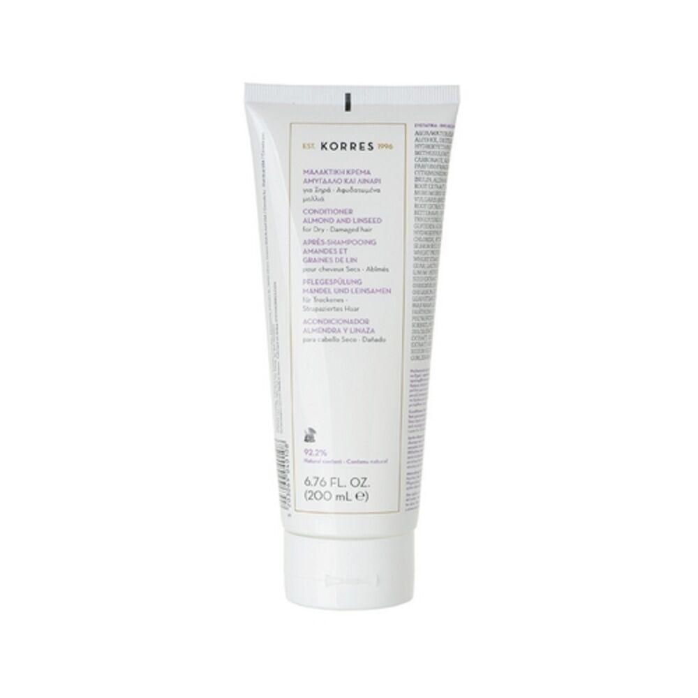 Korres Amandes et graines de Lin Après-shampooing (cheveux secs)
