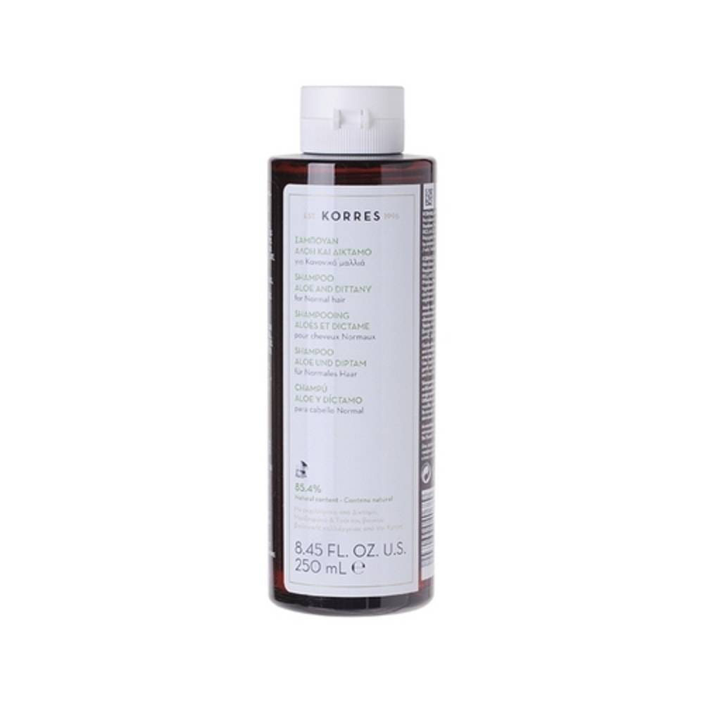 Korres Aloes et Dictame Shampooing (cheveux normaux)