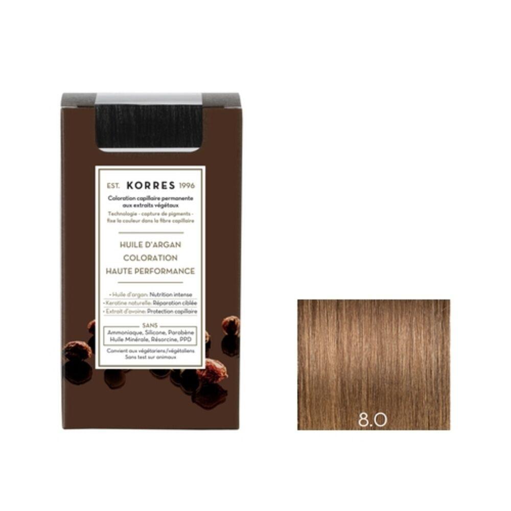 Korres Blond Clair 8.0 Coloration capillaire permanante
