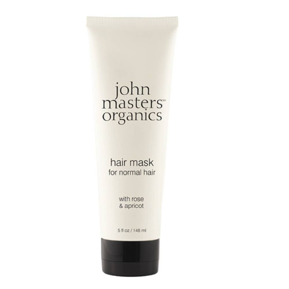 John Masters Organics Masque capillaire hydratant rose & abricot