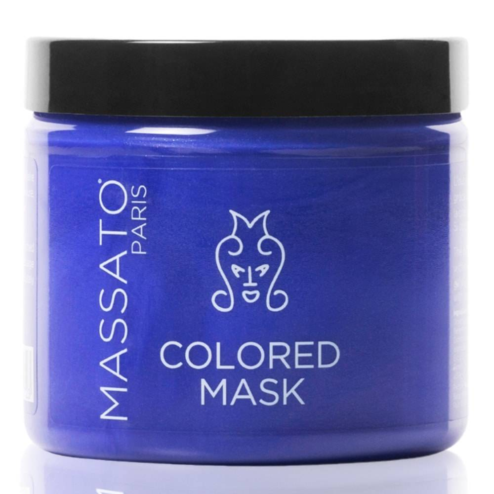 Massato Masque Coloré - Platinum Blond Masque Cheveux Naturels ou Colorés Blancs à Blonds Platines