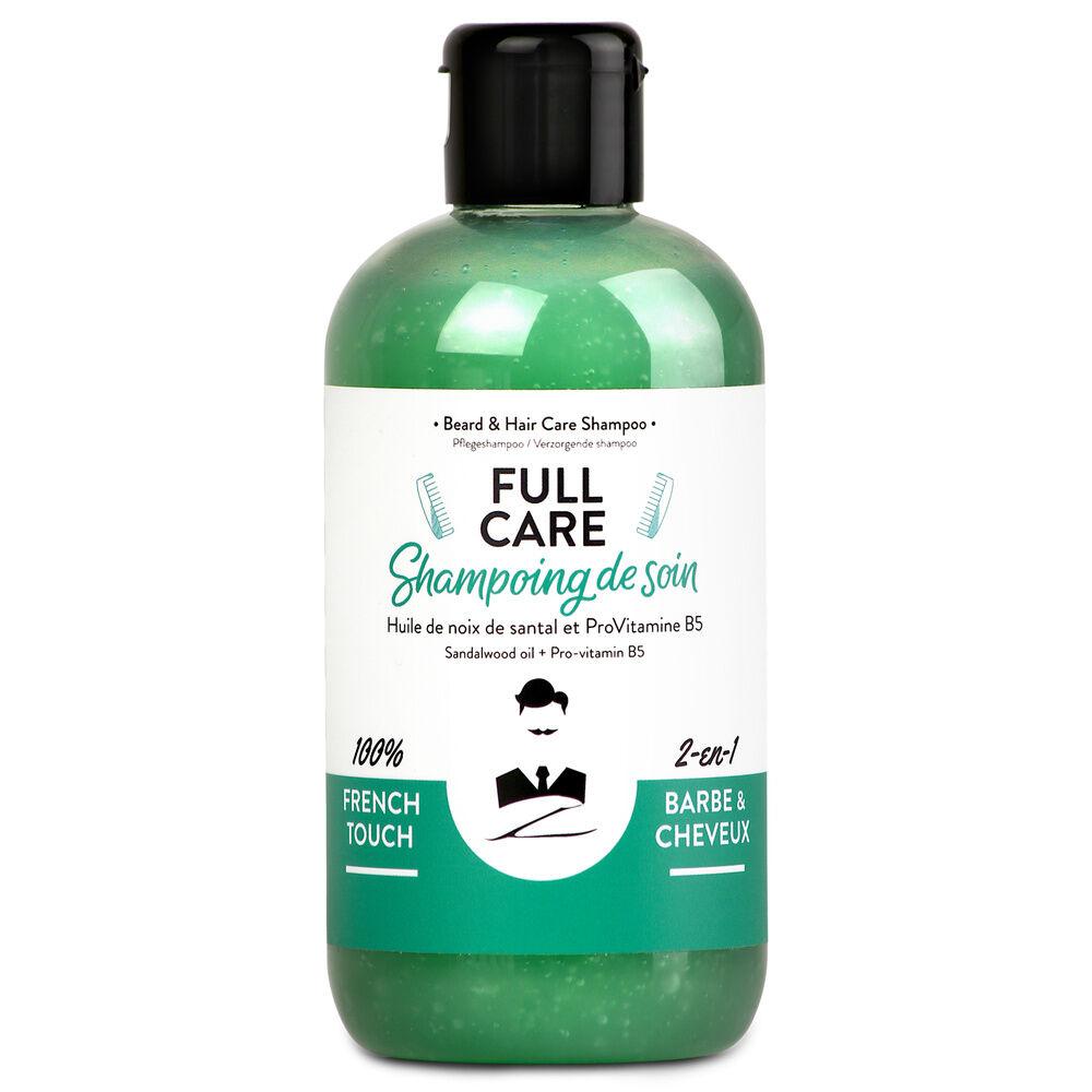 Monsieur Barbier Shampoing Homme Full Care Shampooing de soin 2-en-1 Barbe et Cheveux pour Hommes