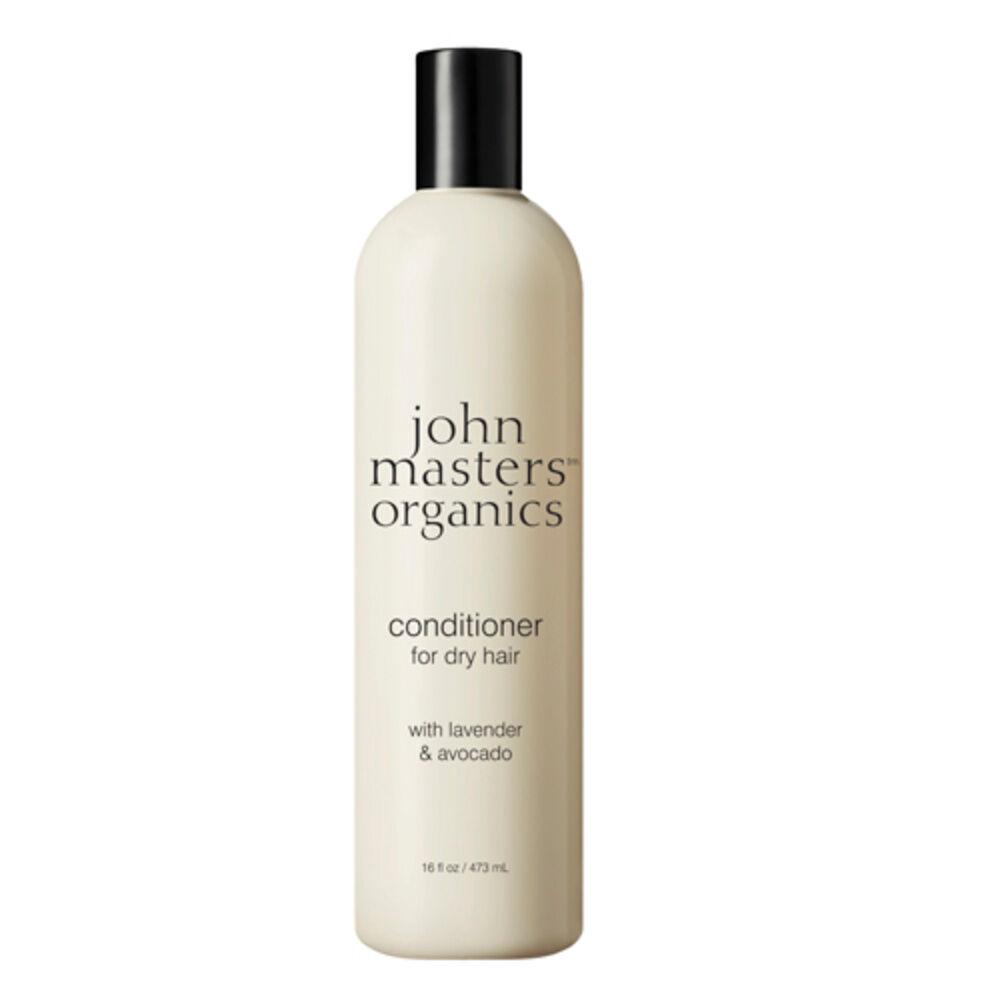 John Masters Organics Après-shampoing pour cheveux secs à la lavande et à l'avocat 473 ml