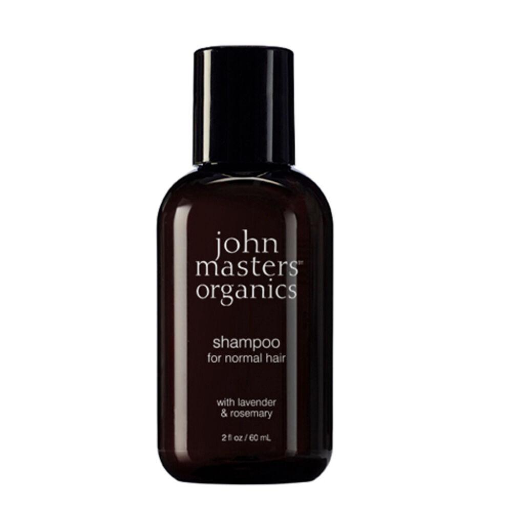 John Masters Organics Shampoing pour cheveux normaux à la lavande et au romarin 60 ml