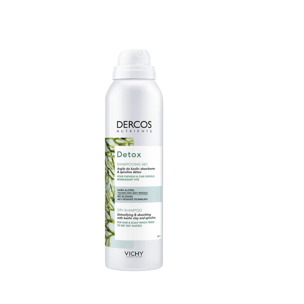 Vichy Dercos Technique Nutrients Shampooing Sec Purifiant pour Cheveux et Cuir Chevelu Regraissant Vite