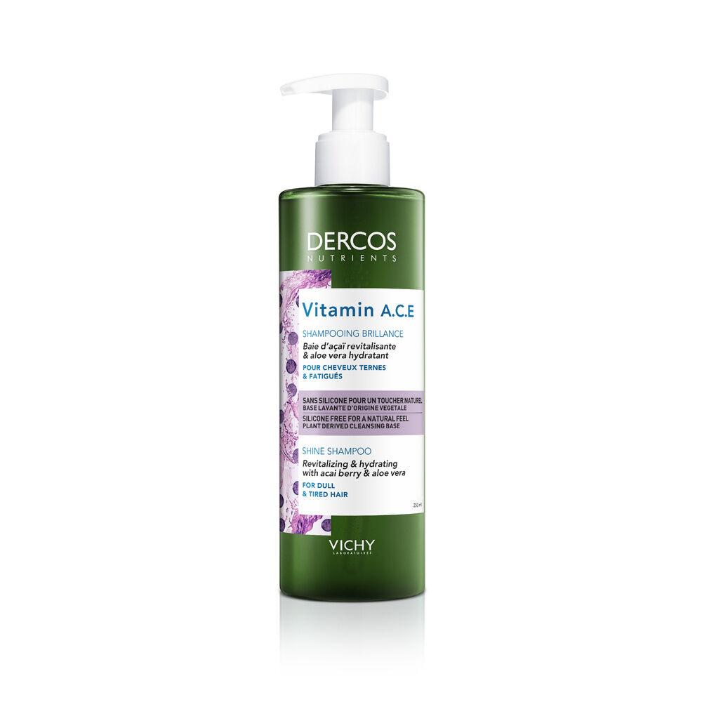 Vichy Dercos Technique Nutrients Shampooing Brillance pour Cheveux Ternes et Fatigués