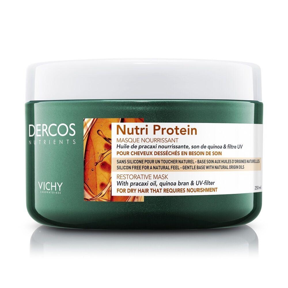 Vichy Dercos Technique Nutrients Masque nourrissant Nutri Protein cheveux secs