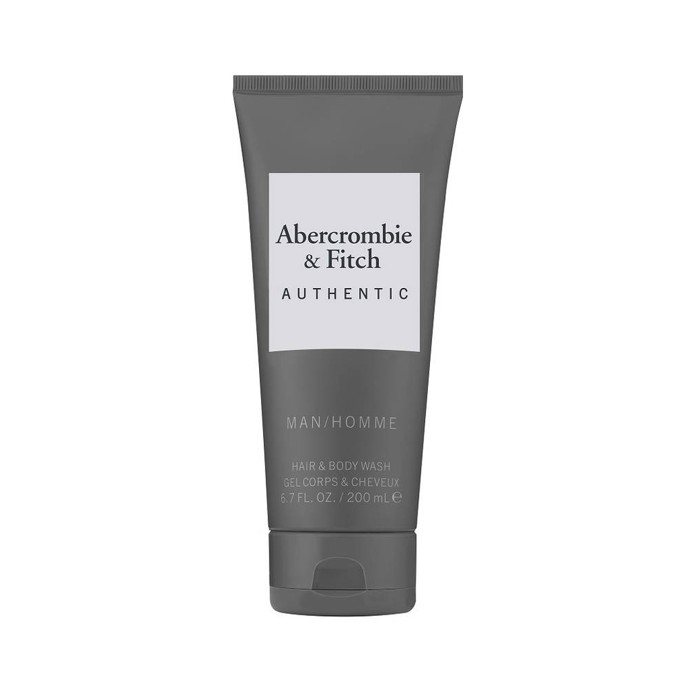 Abercrombie&Fitch Authentic Homme Gel douche corps&cheveux 200 ml