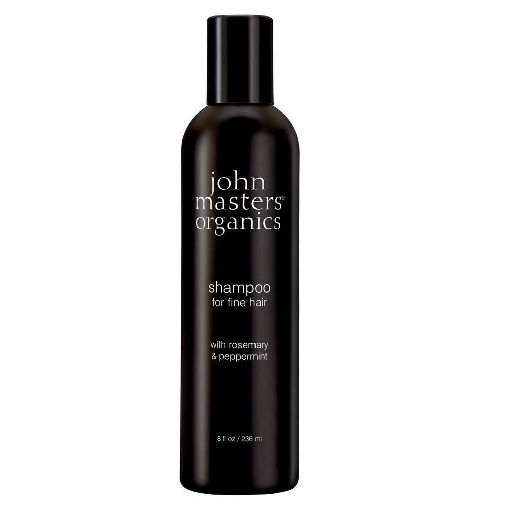 John Masters Organics Shampoing pour cheveux fins au romarin et à la menthe poivrée