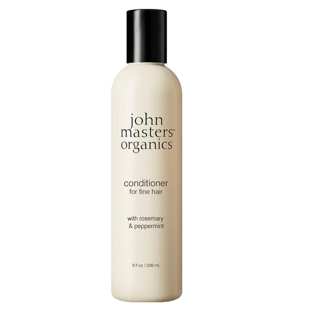 John Masters Organics Après-shampoing pour cheveux fins au romarin et à la menthe poivrée