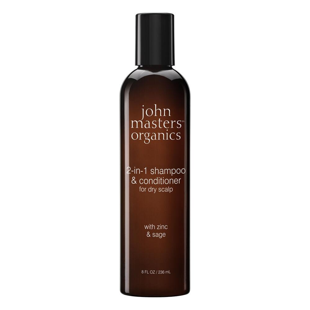 John Masters Organics Shampoing et après-shampoing 2 en 1 pour cuir chevelu sec Shampoing