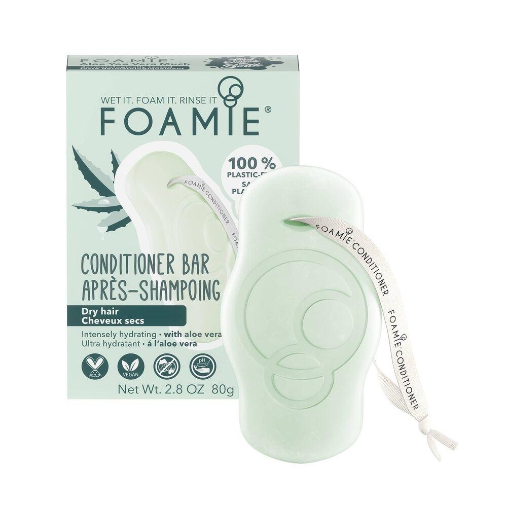 Foamie Après-Shampoing en Barre Aloe You Vera Much (Cheveux Secs) Après Shampoing