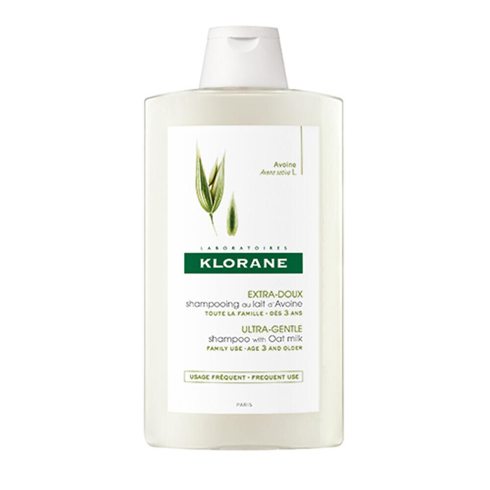 Klorane Lait d'Avoine Shampooing 400 ml Shampooing