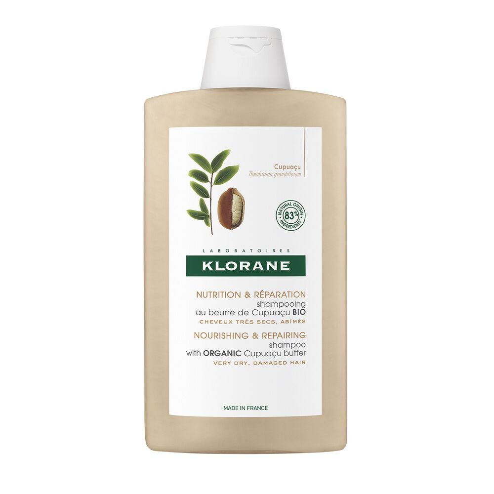 Klorane Shampooing riche au Beurre de Cupuaçu Bio  400 ml Shampooing