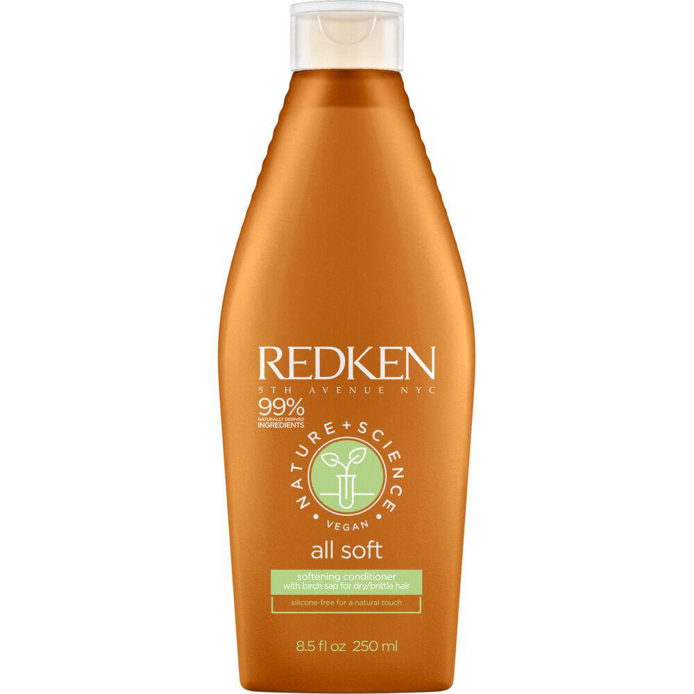 Redken Nature + Science - All Soft-Après shampoing Après-shampoing vegan hydratant cheveuxsecs et rêches