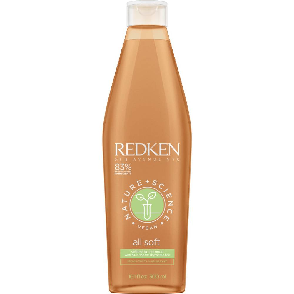 Redken Nature + Science - All Soft- Shampoing Shampoing vegan hydratant cheveux secs