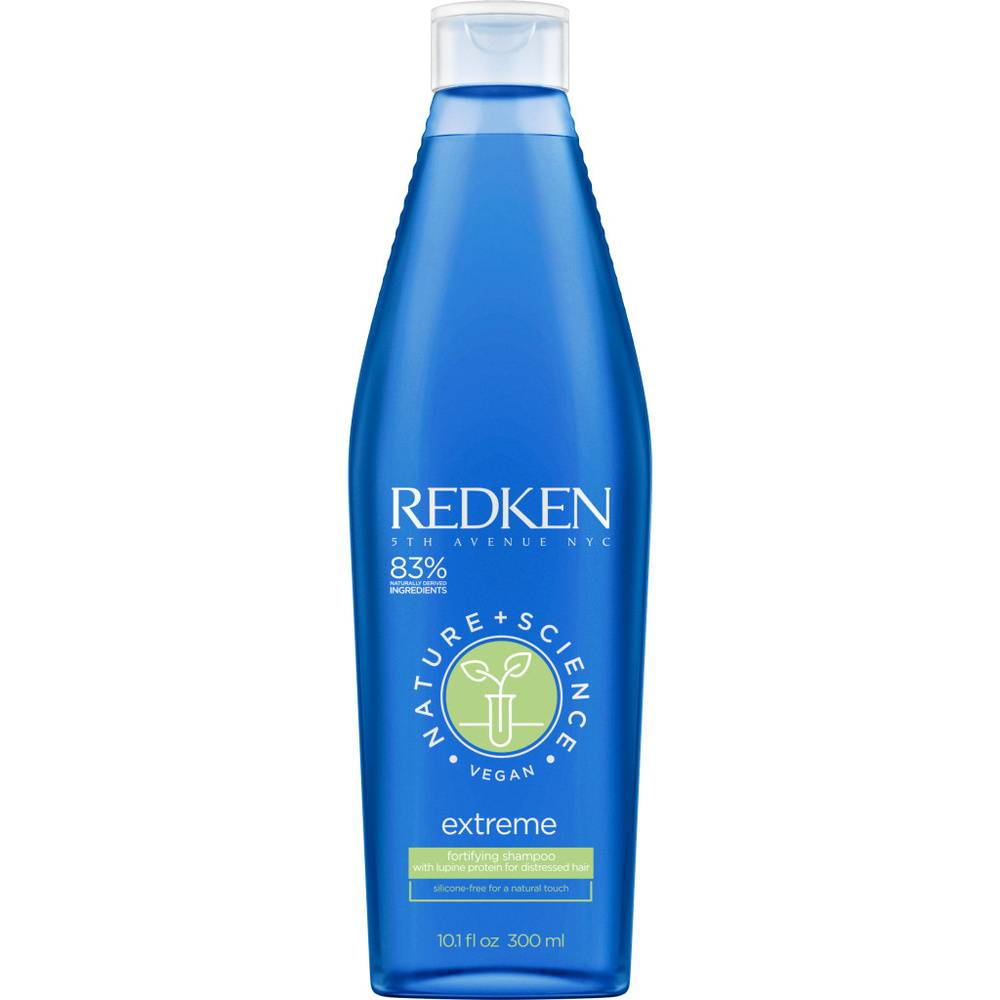 Redken Nature + Science - Extreme-Shampoing Shampoing vegan fortifiant cheveux abîmés