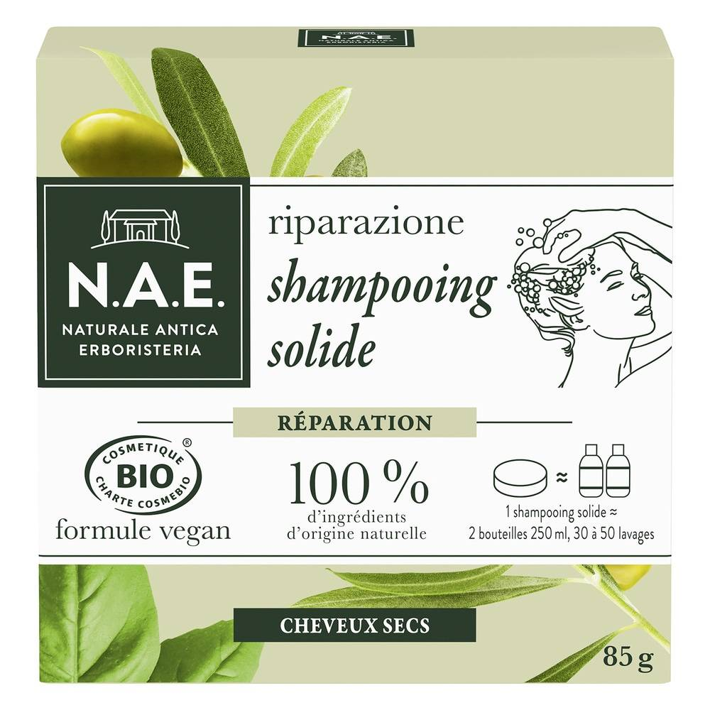 N.A.E. SHAMPOOING BIO Solide Réparation Shampooing solide