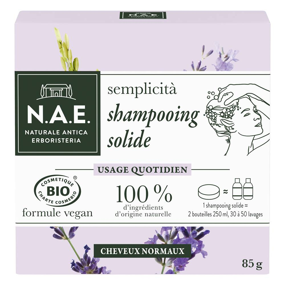 N.A.E. SHAMPOOING BIO Solide Quotidien Shampooing solide