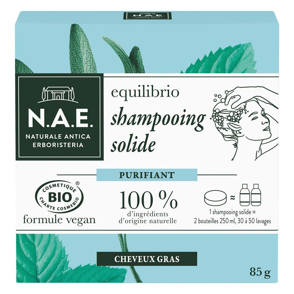 N.A.E. SHAMPOOING BIO Solide Purifiant Shampooing solide