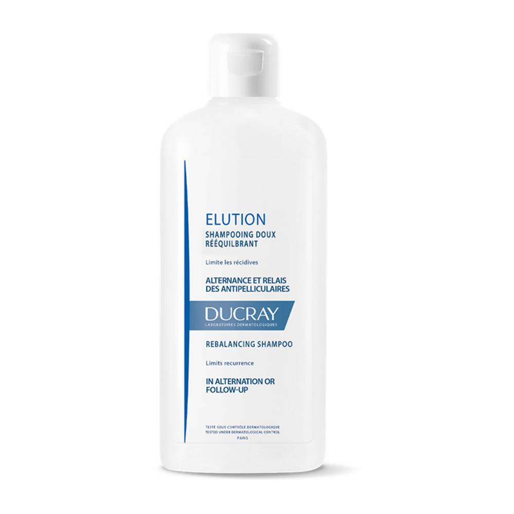 Ducray Elution shampoing Doux Equilibrant 400ml Shampooing