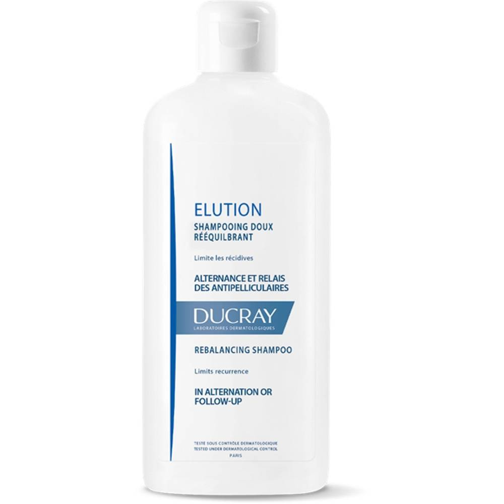 Ducray Elution shampoing Doux Equilibrant 200ml Shampooing