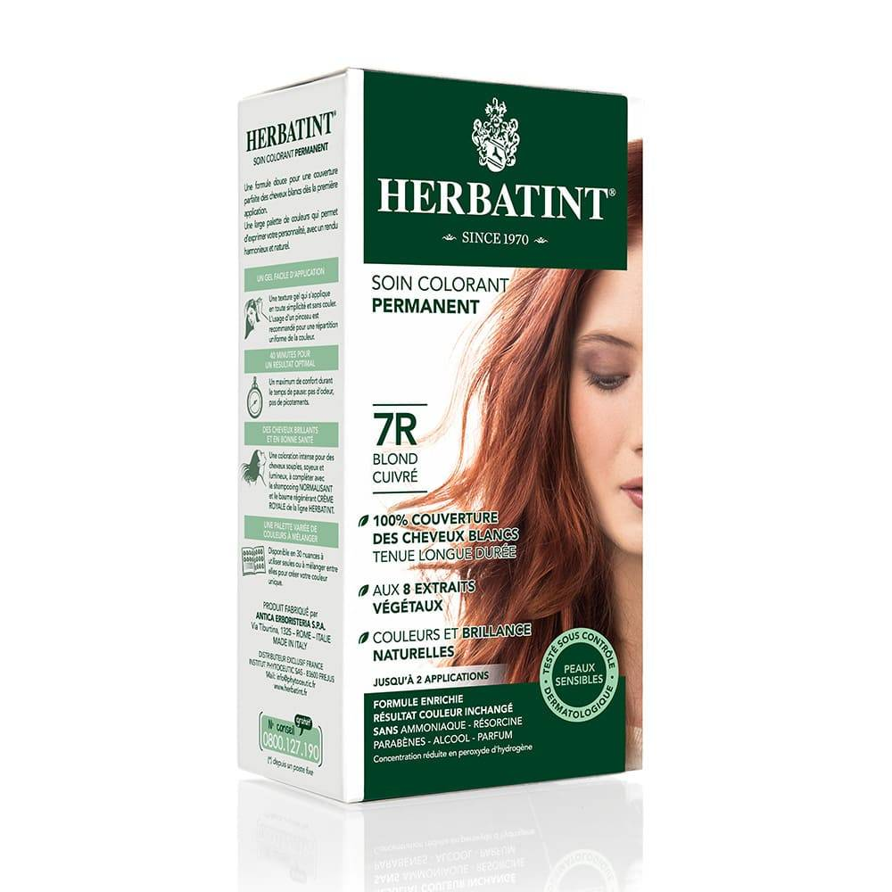 Herbatint Soin colorant permanent Coloration permanente