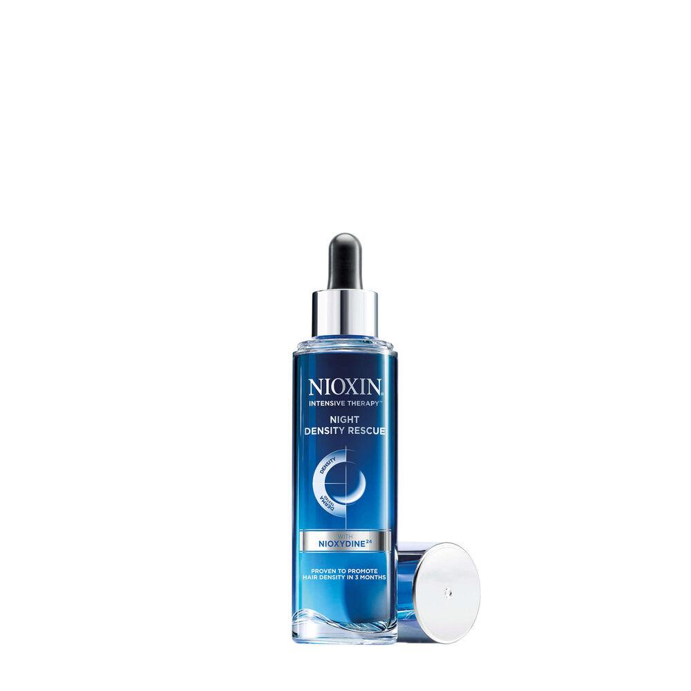 NIOXIN Night Density Rescue 70ml Traitement de nuit sans rinçage qui favorise la densité des cheveux