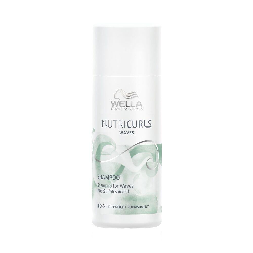 Wella NUTRICURLS Shampooing pour cheveux ondulés Shampooing nourrissant
