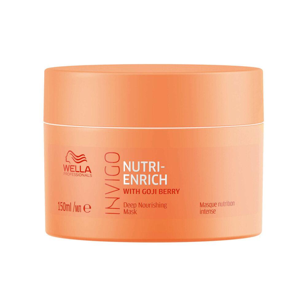 Wella Masque nourrissant NUTRI-ENRICH, pour une nutrition intense, 150ml Masque pour cheveux secs ou fragilisés