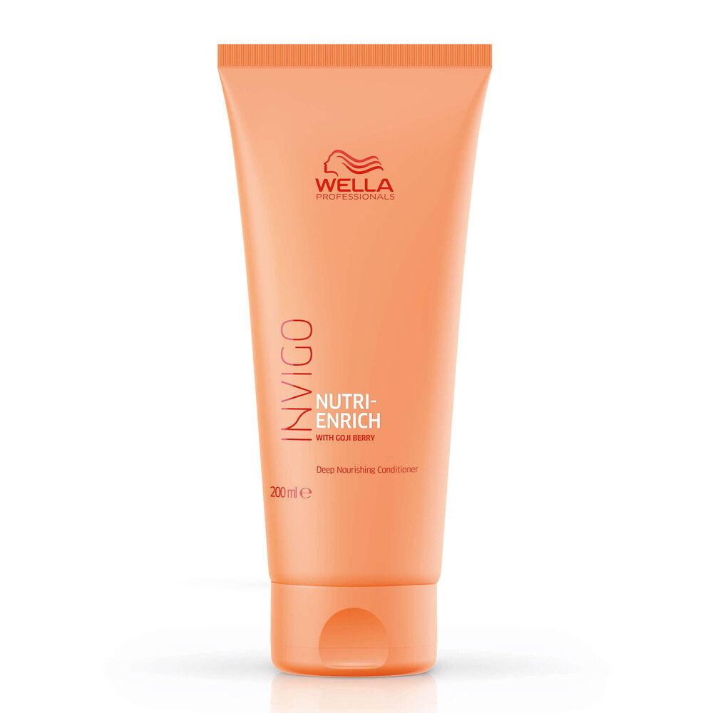 Wella Conditionneur nourrissant NUTRI-ENRICH,pour une nutrition intense 200ml Conditionneur pour cheveux secs ou fragilisés