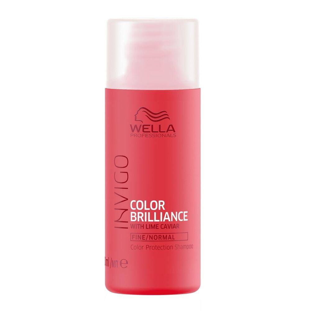Wella Shampooing PROTECOLOR COLOR BRILLIANCE,pour les cheveux fins/normaux, 50ml Shampooing protecteur de couleur