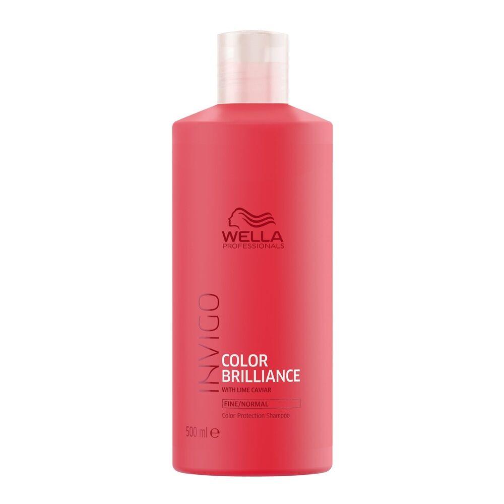 Wella Shampooing PROTECOLOR COLOR BRILLIANCE,pour les cheveux fins/normaux, 500ml Shampooing protecteur de couleur