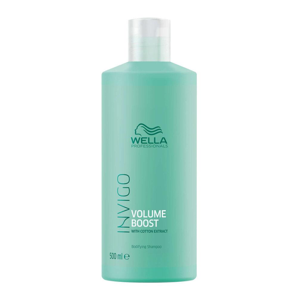 Wella Shampooing épaississant VOLUME BOOST XXL,  500ml Shampooing pour cheveux fins à normaux manquant de volume