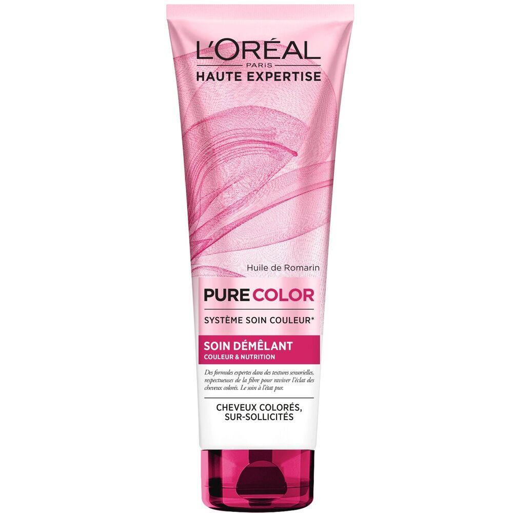 L'Oréal Paris Haute Expertise Pure Color Après-Shampoing démêlant hydratant cheveux colorés