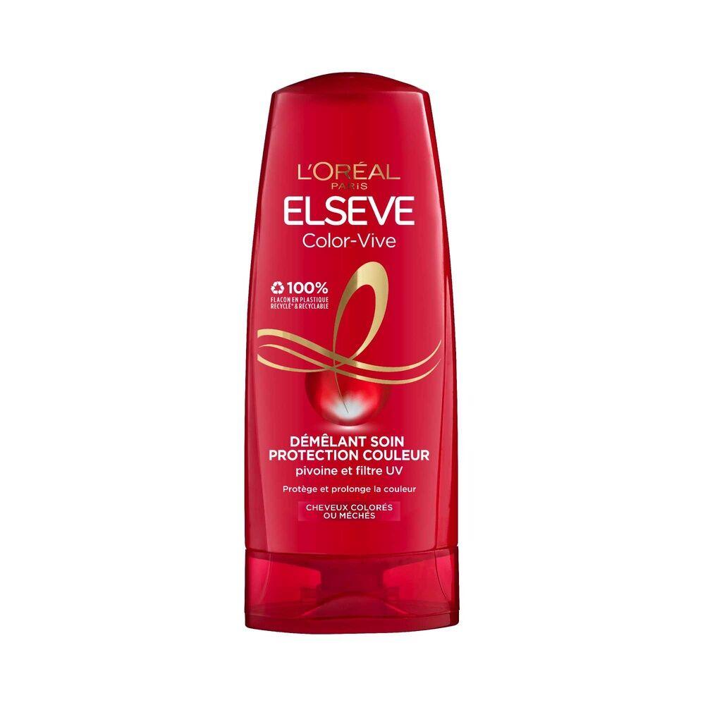 L'Oréal Paris Elseve Color-Vive Après-Shampoing démêlant soin protection couleur enrichi en pivoine et filtre uv