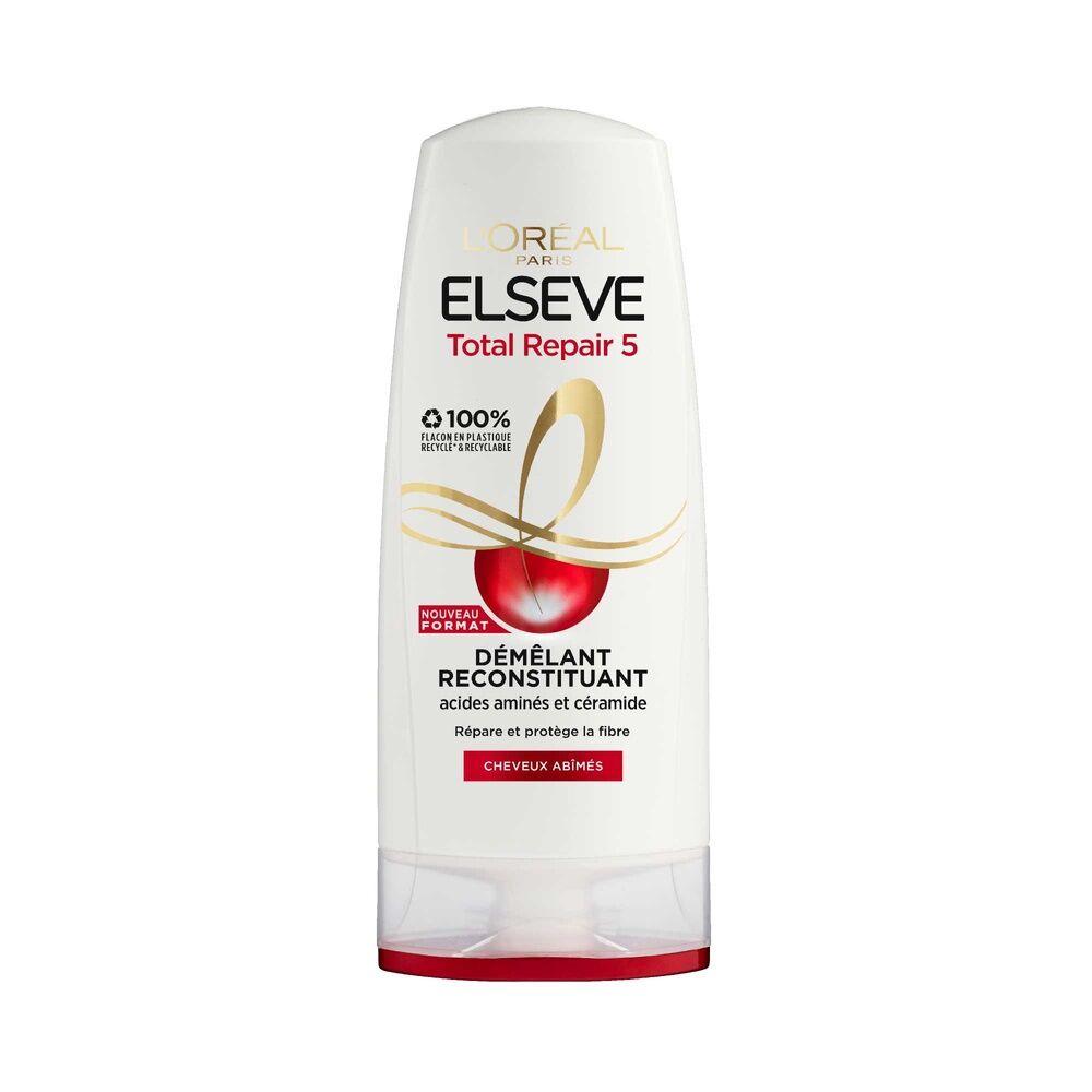 L'Oréal Paris Elseve Total Repair 5 Après-Shampoing démêlant reconstituant enrichi en acides aminés et céramide
