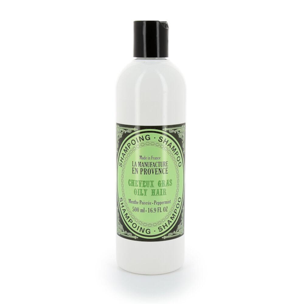 La Manufacture en Provence Shampoing cheveux gras Menthe Poivrée BIO SHAMPOING BIO