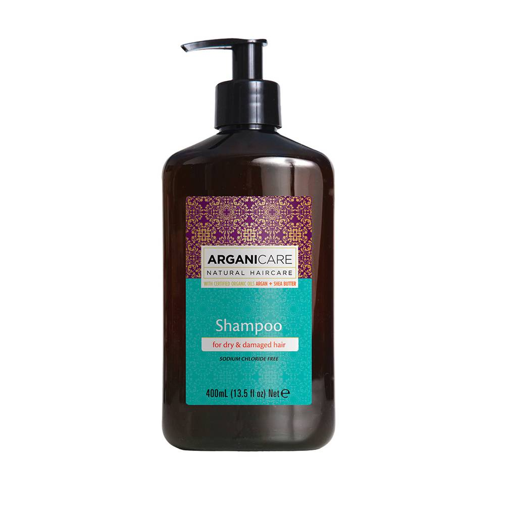 Arganicare Shampooing à lhuile largan Nourrissant et hydratant pour cheveux secs et abimés.