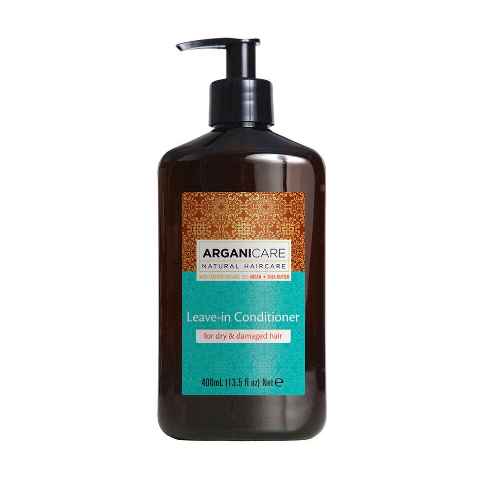 Arganicare Soin sans rinçage à l'huile d'argan hydratant et protecteur  pour cheveux secs et abimés