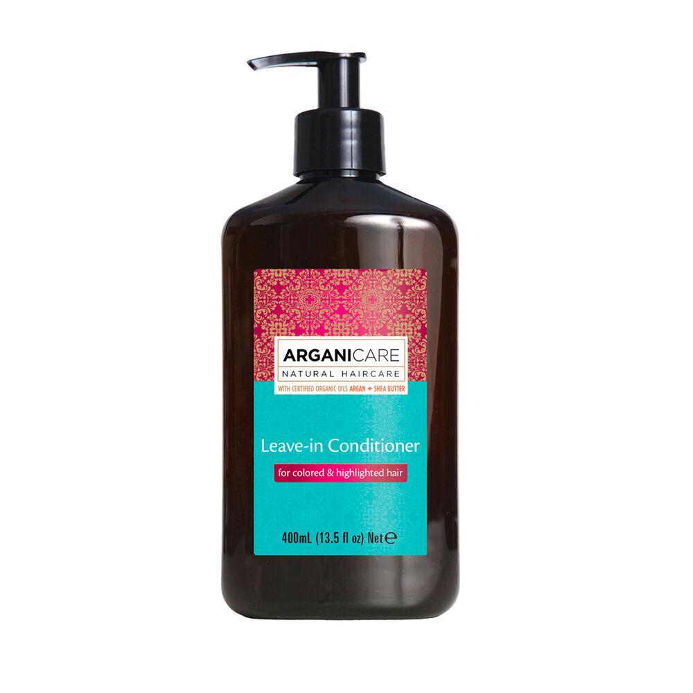 Arganicare Soin sans rinçage à l'huile d'argan hydratant et protecteur  pour cheveux colorés