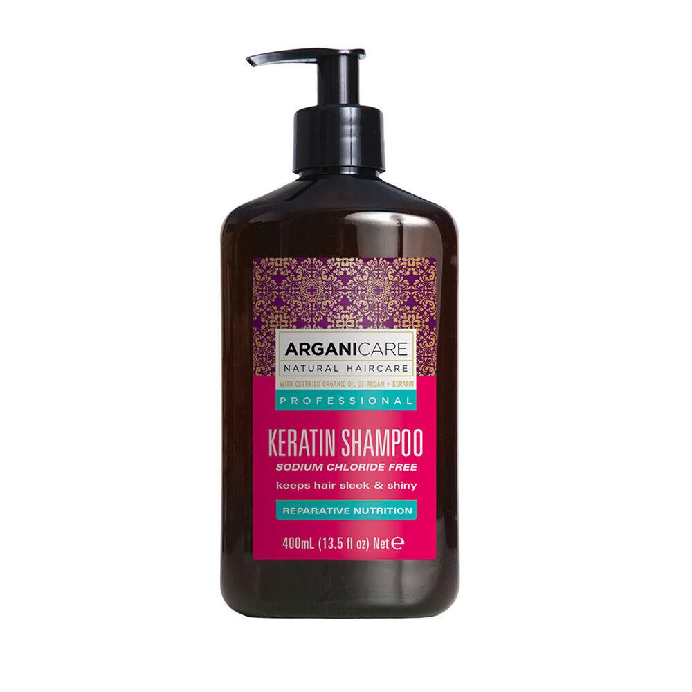 Arganicare Shampooing à la kératine Pour tous types de cheveux