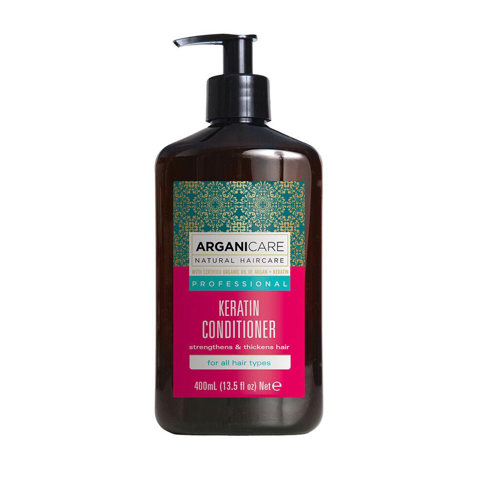 Arganicare Après-shampoing à la kératine - Tous types de cheveux Pour tous types de cheveux